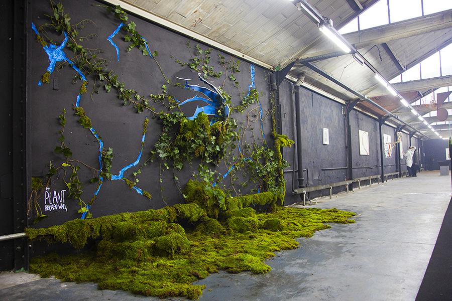 Monsieur Plant © 2016 • Broken Wall • Experiences Art Fair • Paris