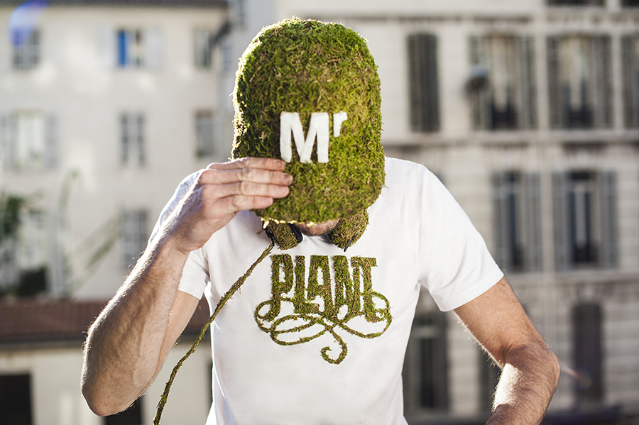 Monsieur Plant © 2016 • Moss Collection • Photo. Florian Gallène