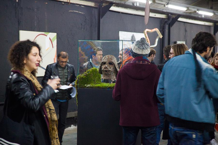 Monsieur Plant © 2016 • Bark Vader • Experiences Art Fair • Paris