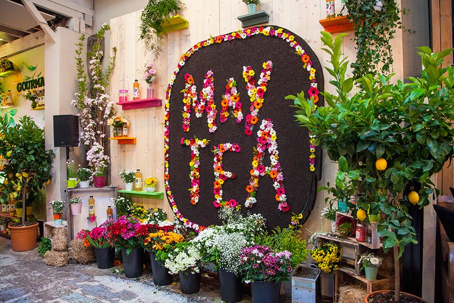 Monsieur Plant © 2016 • May Tea photocall  • May Tea / Orangina & Schweppes / Trafic2prod • Atelier Eiffel